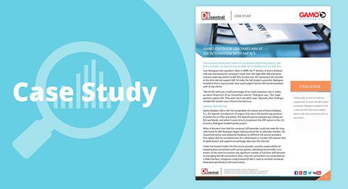 Gamo Outdoor USA Takes Aim at EDI Integration With SAP R/3