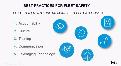 Best Practices for Fleet Safety – Webinar