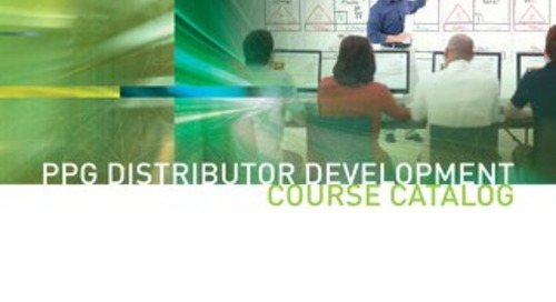 2016 Distributor Training Course Catalog