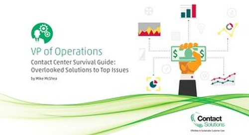 Contact Center Survival Guide for VP Operations