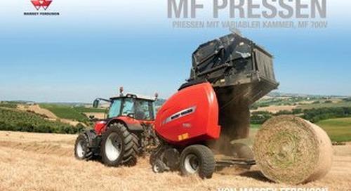 MF 700V Broschüren - DE