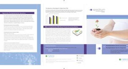 Spectrum Provider Fact Sheet