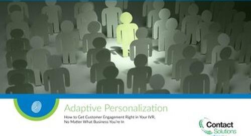 Adaptive Personalization eBook