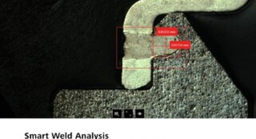 Smart Weld Analysis with Smartzoom 5