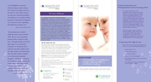 Spectrum - PGS - Patient Brochure