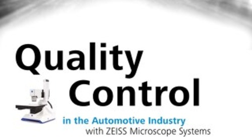 Quality Control in the Automotive Industry with ZEISS Microscope Systems