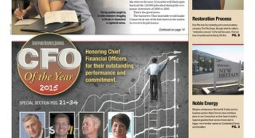CFO of the Year — September 14, 2015