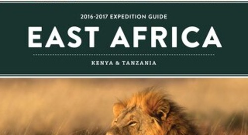 Kenya-Tanzania brochure 2016-2017