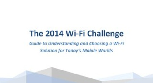 The 2014 Wi-Fi Challenge