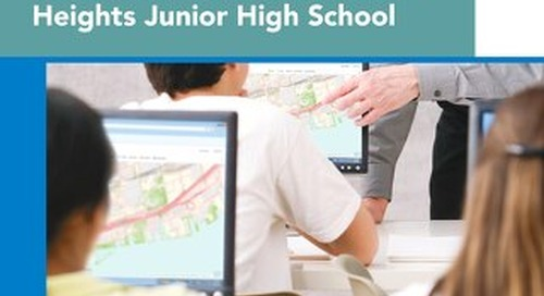 Geospatial Technology Enhances Learning Across the Curriculum at Toronto's Zion Heights Junior High School