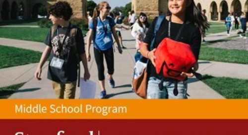 Stanford OHS Middle School Brochure 2017-18