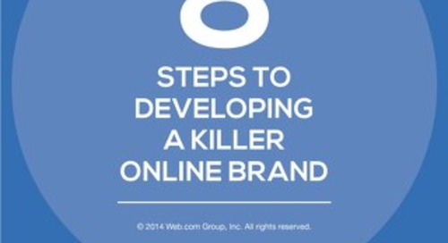8 Steps to Develop a Killer Online Brand