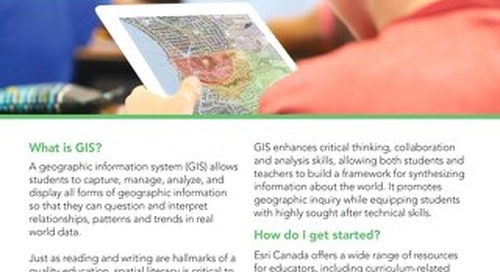 The Value of GIS in Education