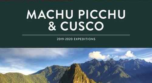 Machu Picchu & Cusco 2018