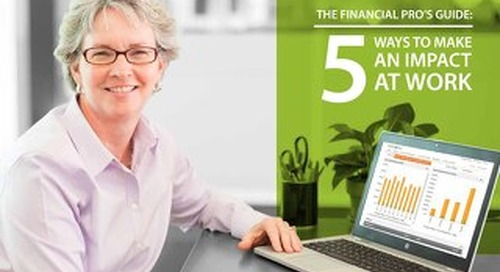 The Financial Pro's Guide: 5 Ways to Make an Impact at Work