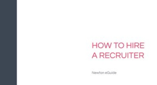 How to Hire a Recruiter