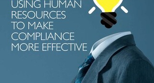 Using human resources to make compliance more effective
