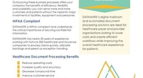 Healthcare Document Processing Brochure
