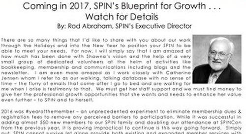 Jan 2017 SPIN News