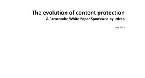 White paper: Evolution of content protection
