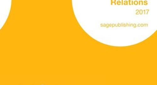 Politics & International Relations Catalogue 2017