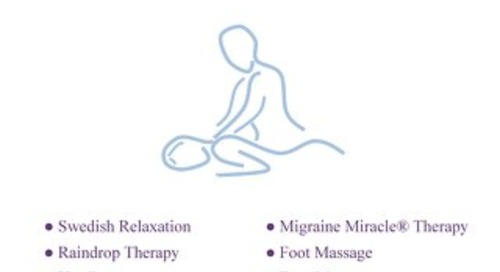 Door County Massage Brochure