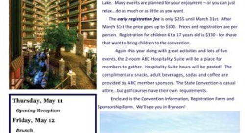 ABC 2017 State Convention Registration Packet