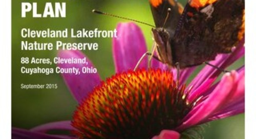 Cleveland Lakefront Nature Preserve Management Plan