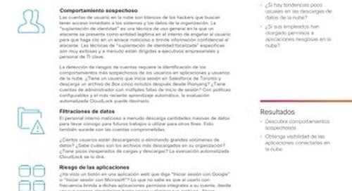 Cisco Cloudlock Automated Assessment – Spanish