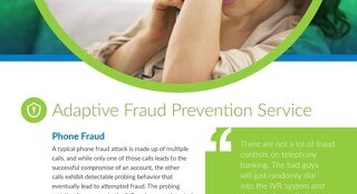 Adaptive Fraud Prevention Service
