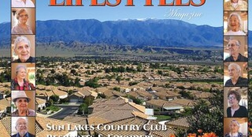 Sun Lakes Lifestyles, May 2017
