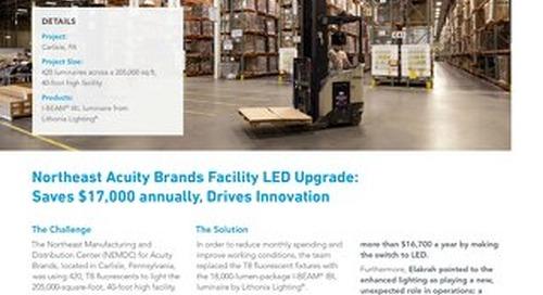 LED Warehouse, Zero Maintenance [Case Study]