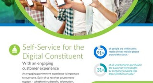 Self-Service for the Digital Constituent