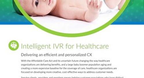 Intelligent IVR for Healthcare
