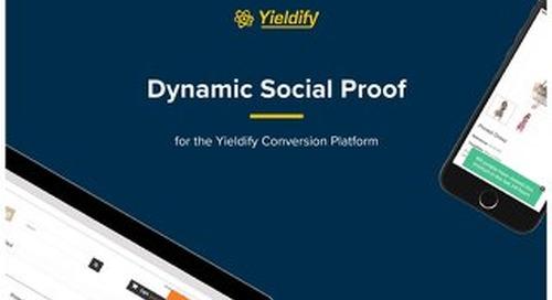 Yieldify Dynamic Social Proof