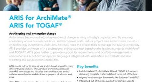 ARIS for ArchiMate