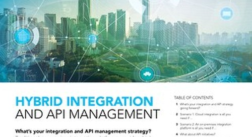 Hybrid Integration and API Management