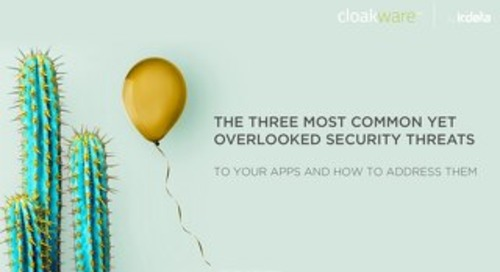 E-book: The 3 most overlooked security threats to your apps