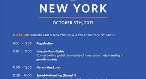 2017 EIN NY Investor Agenda