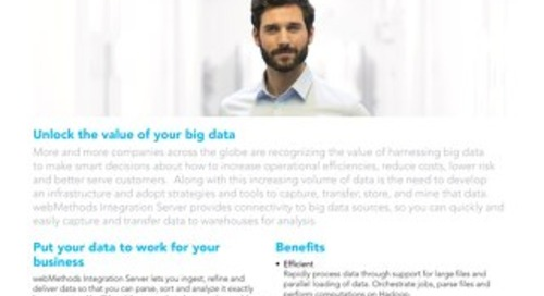 webMethods & big data initiatives