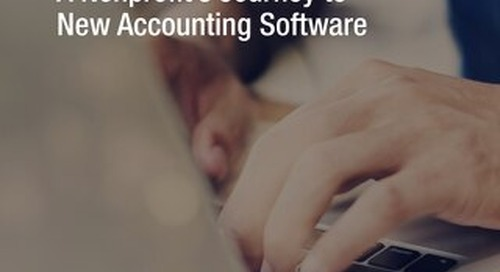 Starting the Search: A Nonprofit's Journey to New Accounting Software