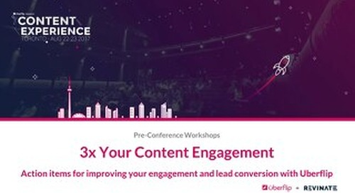 How Revinate's Marketing Team Increased Content Engagement by 3X with Uberflip