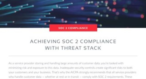 SOC 2 Compliance with Threat Stack