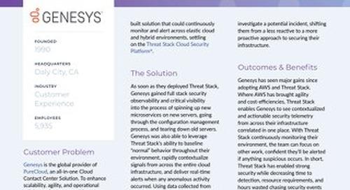 Genesys Case Study
