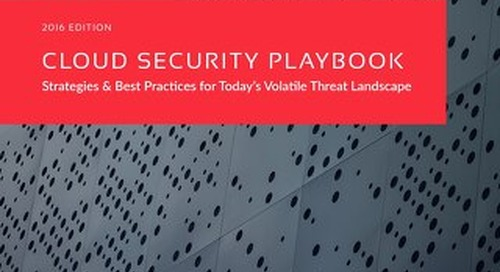 Cloud Security Playbook