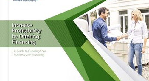 Ebook: Increase Profitability by Offering Financing