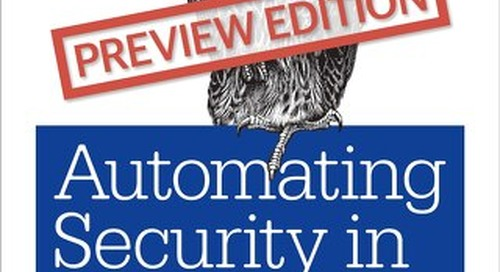 O'Reilly's Automating Security in the Cloud