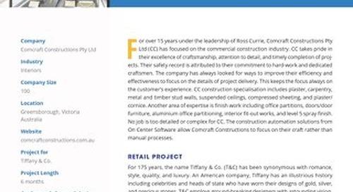 Comcraft Construction's Award-Winning Retail Project