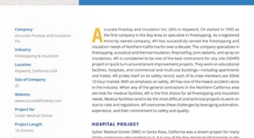 A Desirable Design-Build Hospital Project