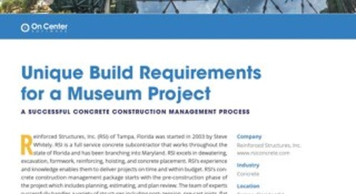 Unique Build Requirements for a Museum Project